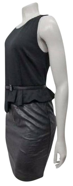 Preload https://item4.tradesy.com/images/inc-international-concepts-black-faux-leather-belted-peplum-short-cocktail-dress-size-8-m-22002188-0-1.jpg?width=400&height=650