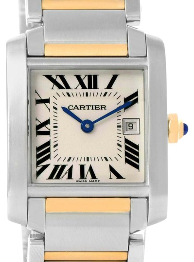 Preload https://item3.tradesy.com/images/cartier-silver-tank-francaise-midsize-steel-yellow-gold-w51012q4-watch-22002192-0-1.jpg?width=440&height=440