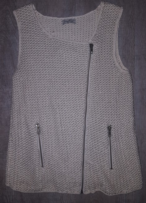 Lucky Brand Metallic Vest