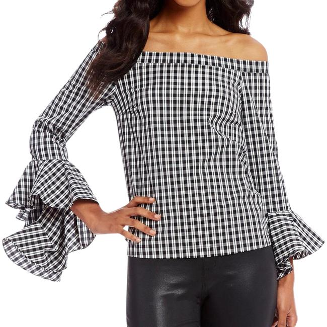 Preload https://img-static.tradesy.com/item/22002320/1state-off-the-shoulder-gingham-tops-blouse-size-4-s-0-1-650-650.jpg