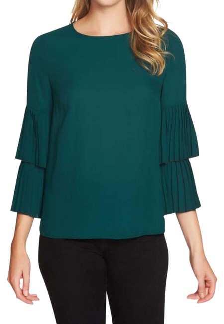 Preload https://img-static.tradesy.com/item/22002332/1state-bell-sleeves-blouse-size-2-xs-0-1-650-650.jpg