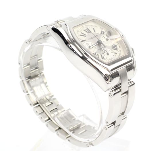 Preload https://img-static.tradesy.com/item/22002374/cartier-silver-roadster-watch-0-2-540-540.jpg