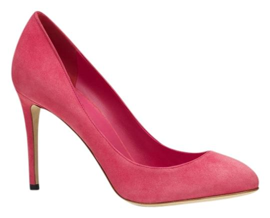 Gucci Classic Heels Suede Italy Pink Pumps