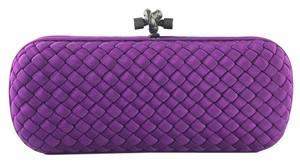 Bottega Veneta Purple Clutch