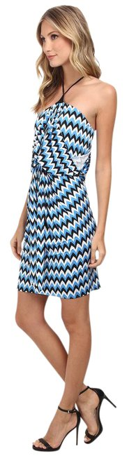 Preload https://item4.tradesy.com/images/t-bags-los-angeles-bluewhiteblack-halter-front-night-out-dress-size-8-m-22002493-0-2.jpg?width=400&height=650