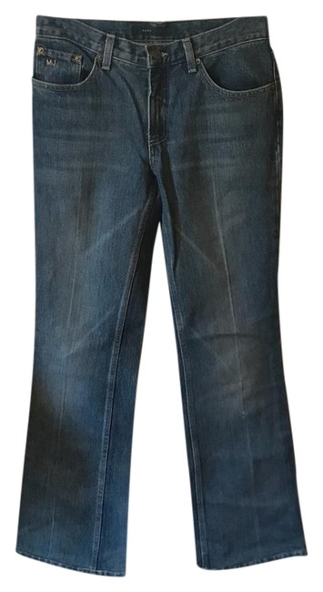 Preload https://item2.tradesy.com/images/marc-jacobs-medium-wash-boot-cut-jeans-size-29-6-m-22002516-0-1.jpg?width=400&height=650