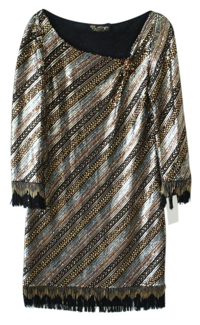 Preload https://item5.tradesy.com/images/st-john-bronze-couture-black-rhinestone-and-beaded-mid-length-cocktail-dress-size-12-l-22002524-0-1.jpg?width=400&height=650