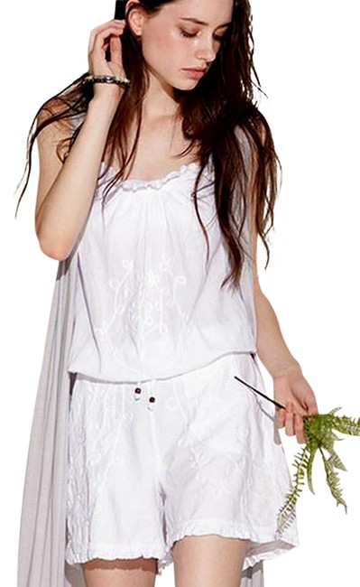 Preload https://item1.tradesy.com/images/lirome-white-organic-cotton-embroidered-perla-spaghetti-straps-nautical-short-romperjumpsuit-size-10-22002595-0-1.jpg?width=400&height=650