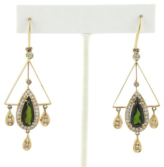 Preload https://item5.tradesy.com/images/green-tourmaline-yellow-gold-715ct-and-diamond-18k-chandelier-earrings-22002624-0-1.jpg?width=440&height=440