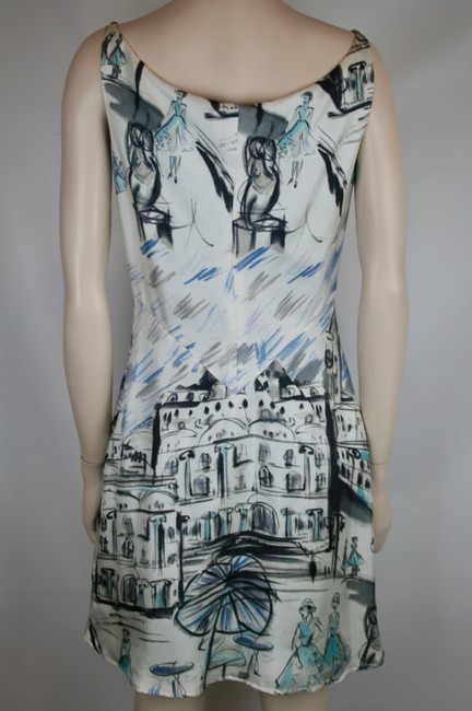 Richard Tyler Couture Silk Sleeveless Sheath Dress
