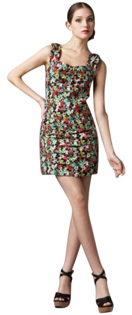 Preload https://item4.tradesy.com/images/nanette-lepore-multicolor-floral-print-mid-length-short-casual-dress-size-4-s-22002748-0-1.jpg?width=400&height=650