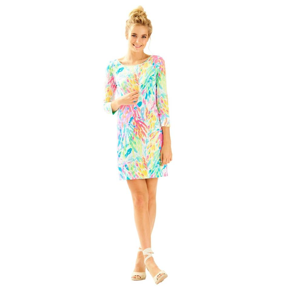 Lilly Pulitzer Sparkling Sands Marlowe Short Casual Dress Size 16