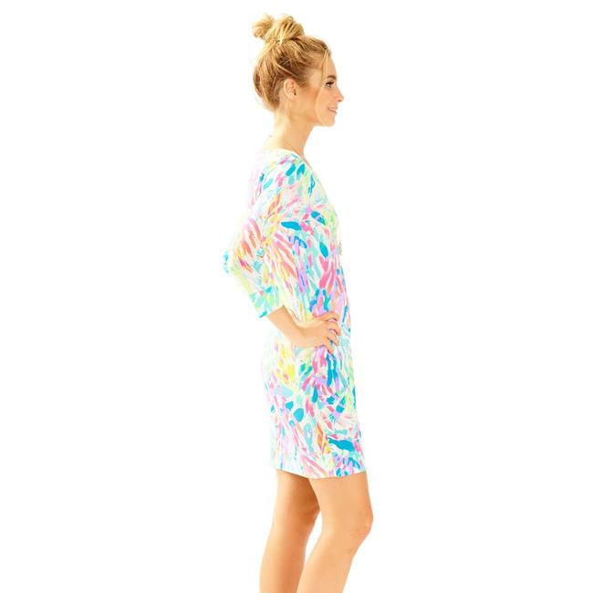 Lilly Pulitzer short dress Marlowe Marlow 3/4 Sleeves Sparkling Sands on Tradesy