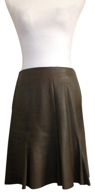 Preload https://item3.tradesy.com/images/olive-brown-lamb-leather-size-4-s-27-22002792-0-1.jpg?width=400&height=650