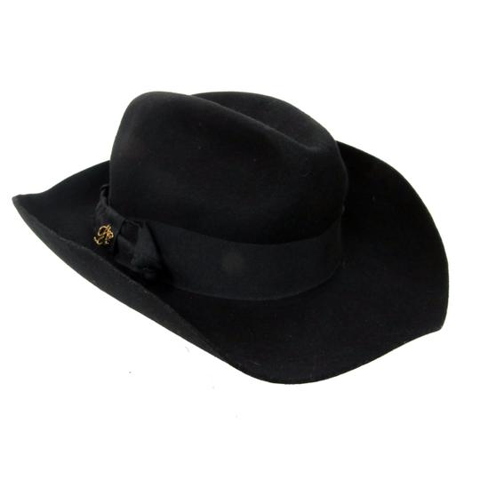 Dsquared2 Dsquared2 Signature Black 100% Women's Fedora Hat