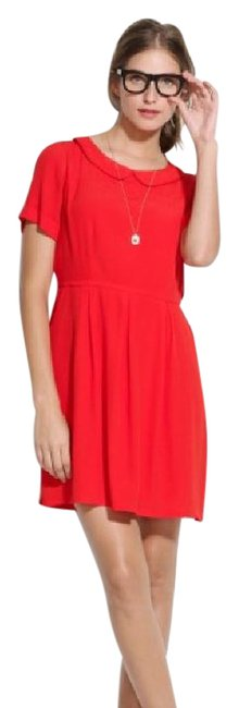 Preload https://img-static.tradesy.com/item/22002908/madewell-red-sodashop-mid-length-workoffice-dress-size-2-xs-0-1-650-650.jpg
