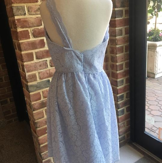 Watters Blue Harbor Lace 7254 Casual Bridesmaid/Mob Dress Size 14 (L)