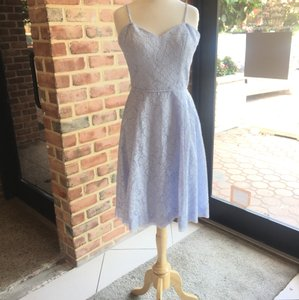 Watters Blue Harbor Lace 7255 Casual Bridesmaid Mob Dress Size 8 M