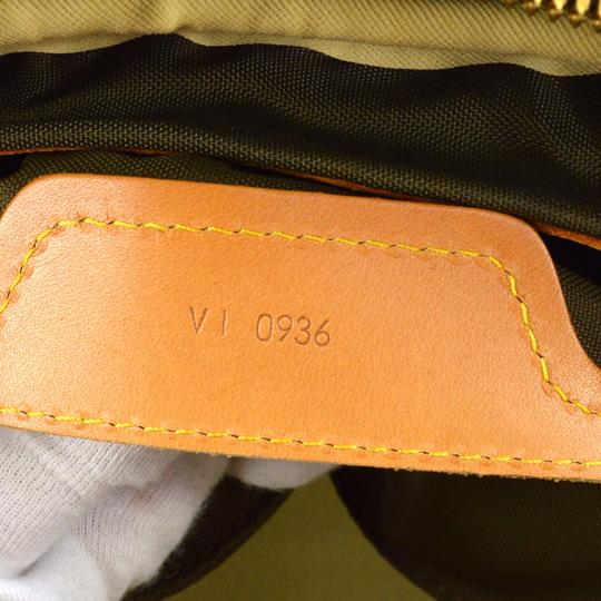 Louis Vuitton Canvas Evasion Monogram Brown Travel Bag