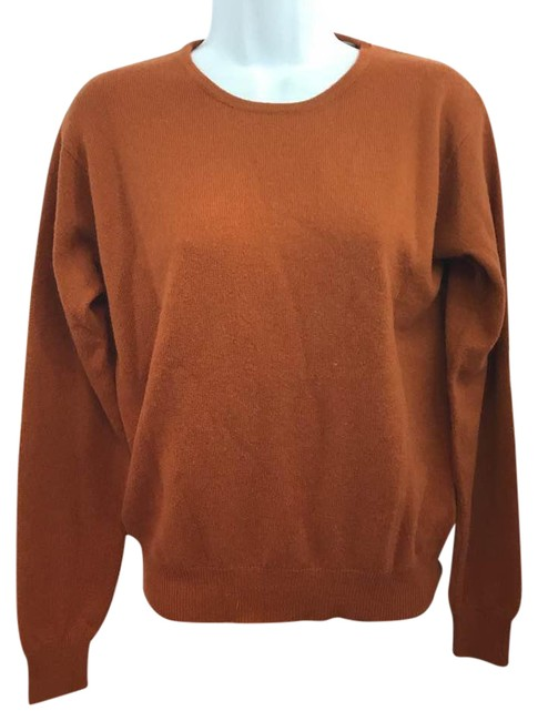 Preload https://img-static.tradesy.com/item/22003049/lord-and-taylor-lord-and-taylor-2-ply-cashmere-knit-rust-orange-sweater-0-1-650-650.jpg