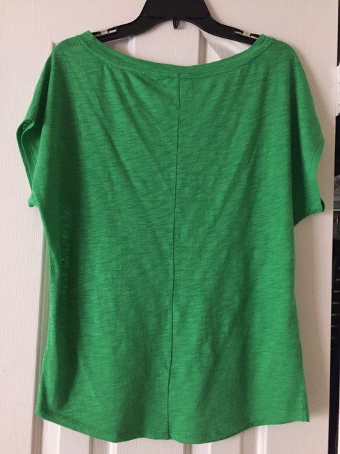 Express Sparkle Cotton T-shirt Holiday T Shirt Green
