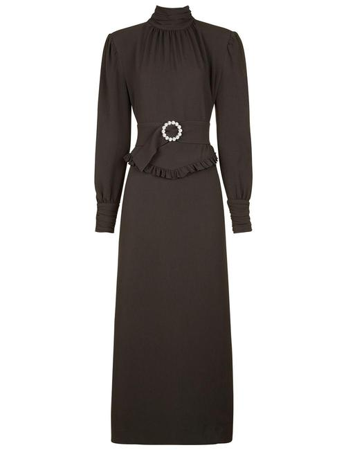 Preload https://item3.tradesy.com/images/alessandra-rich-dove-grey-victoriana-mid-length-cocktail-dress-size-6-s-22003072-0-0.jpg?width=400&height=650