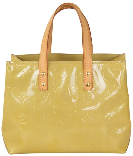 Preload https://item2.tradesy.com/images/louis-vuitton-reade-monogram-vernis-pm-m91144-yellow-leather-and-coated-canvas-tote-22003086-0-0.jpg?width=440&height=440