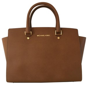 MICHAEL Michael Kors Satchel in Brown (Luggage)