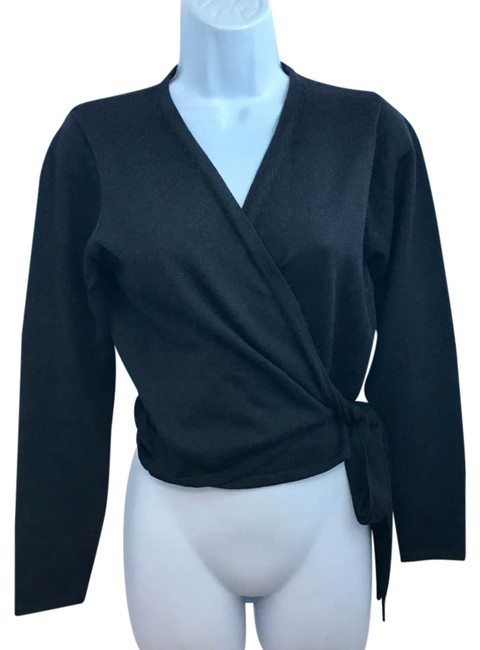 Preload https://img-static.tradesy.com/item/22003142/black-wool-knit-cardigan-size-8-m-0-1-650-650.jpg