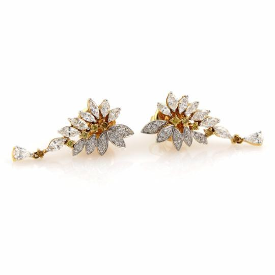 Preload https://img-static.tradesy.com/item/22003196/fancy-yellow-diamond-white-diamond-estate-205ct-and-18k-gold-post-drop-earrings-0-0-540-540.jpg