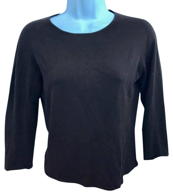Preload https://item5.tradesy.com/images/lord-and-taylor-dark-brown-2-ply-cashmere-knit-sweaterpullover-size-6-s-22003219-0-1.jpg?width=400&height=650