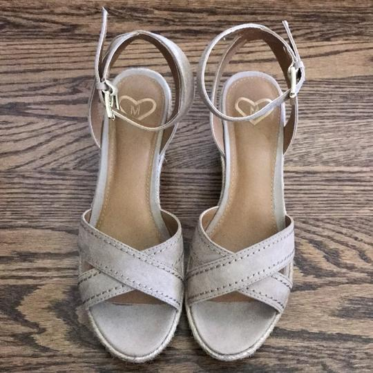 Madeline tan Wedges