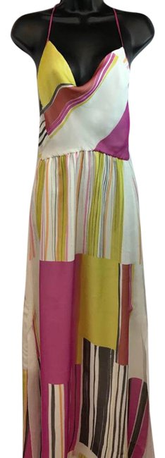 Preload https://item2.tradesy.com/images/multi-color-racer-back-silk-long-casual-maxi-dress-size-6-s-22003311-0-1.jpg?width=400&height=650