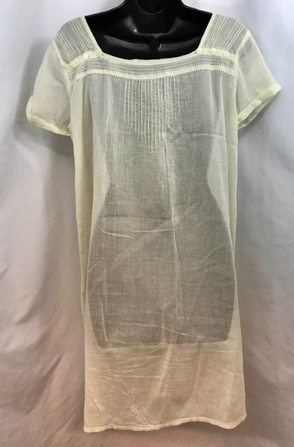Maison Scotch short dress Beige Shift on Tradesy