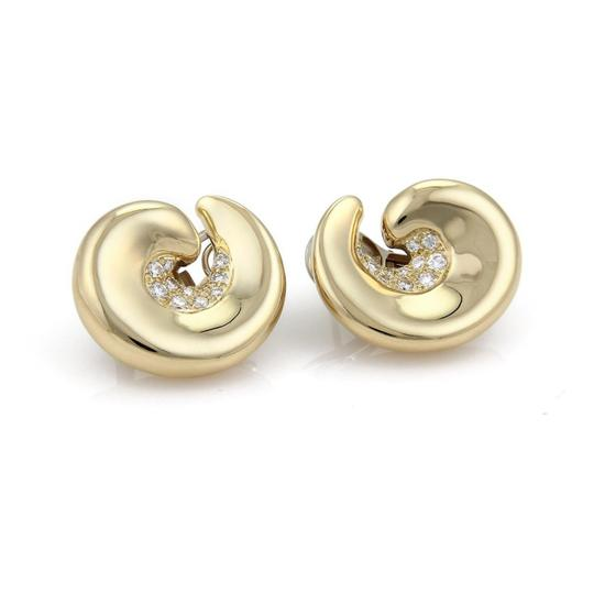 Preload https://item1.tradesy.com/images/yellow-gold-diamond-18k-curved-contour-post-clip-earrings-22003335-0-0.jpg?width=440&height=440