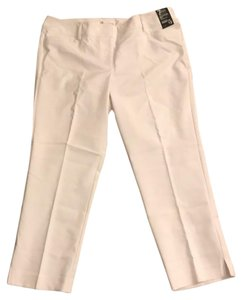 New York & Company Straight Pants white