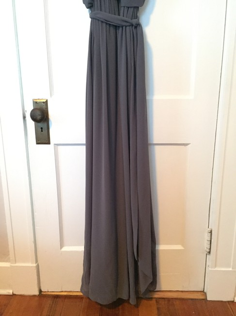 Donna Morgan Bridesmaid Halter Long Wedding Dress