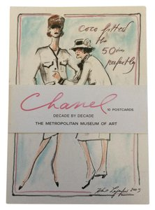 Chanel RARE CHANEL SET OF 2005 MET POSTCARDS BY KARL