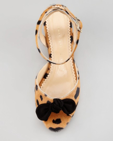 Charlotte Olympia Tan Sandals