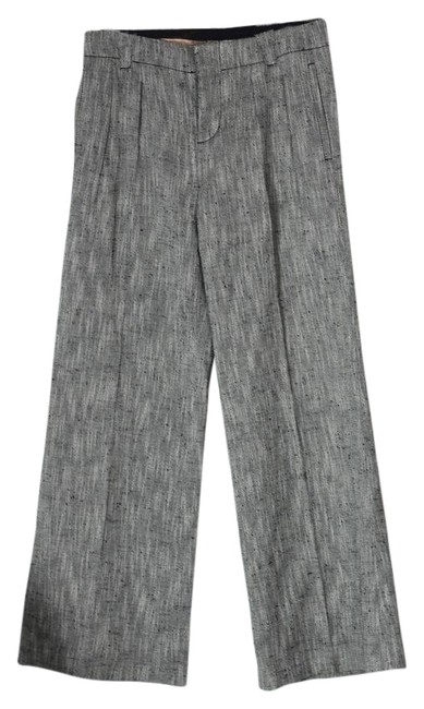 Preload https://item4.tradesy.com/images/giambattista-valli-gray-black-and-white-slouchy-trouser-it42-us-28-wide-leg-pants-size-6-s-28-22003598-0-1.jpg?width=400&height=650