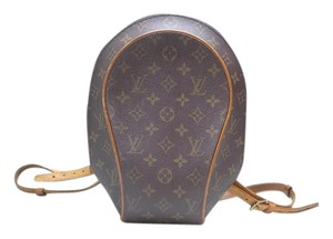 Louis Vuitton Travel Small Medium Classic Vintage Leather Backpack