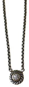 David Yurman David Yurman Pave Diamond Cookie Necklace