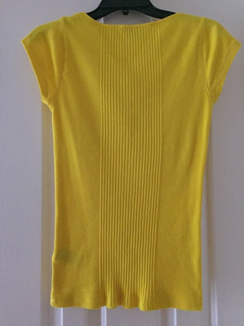 Lauren Ralph Lauren T-shirt Bright Casual T Shirt Yellow