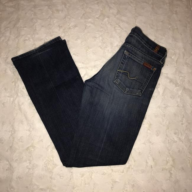7 For All Mankind Boot Cut Jeans-Medium Wash Image 1