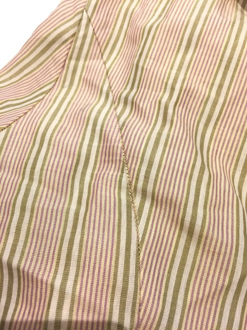 Max Mara Weekend Ruffle Top Yellow Stripe Image 8