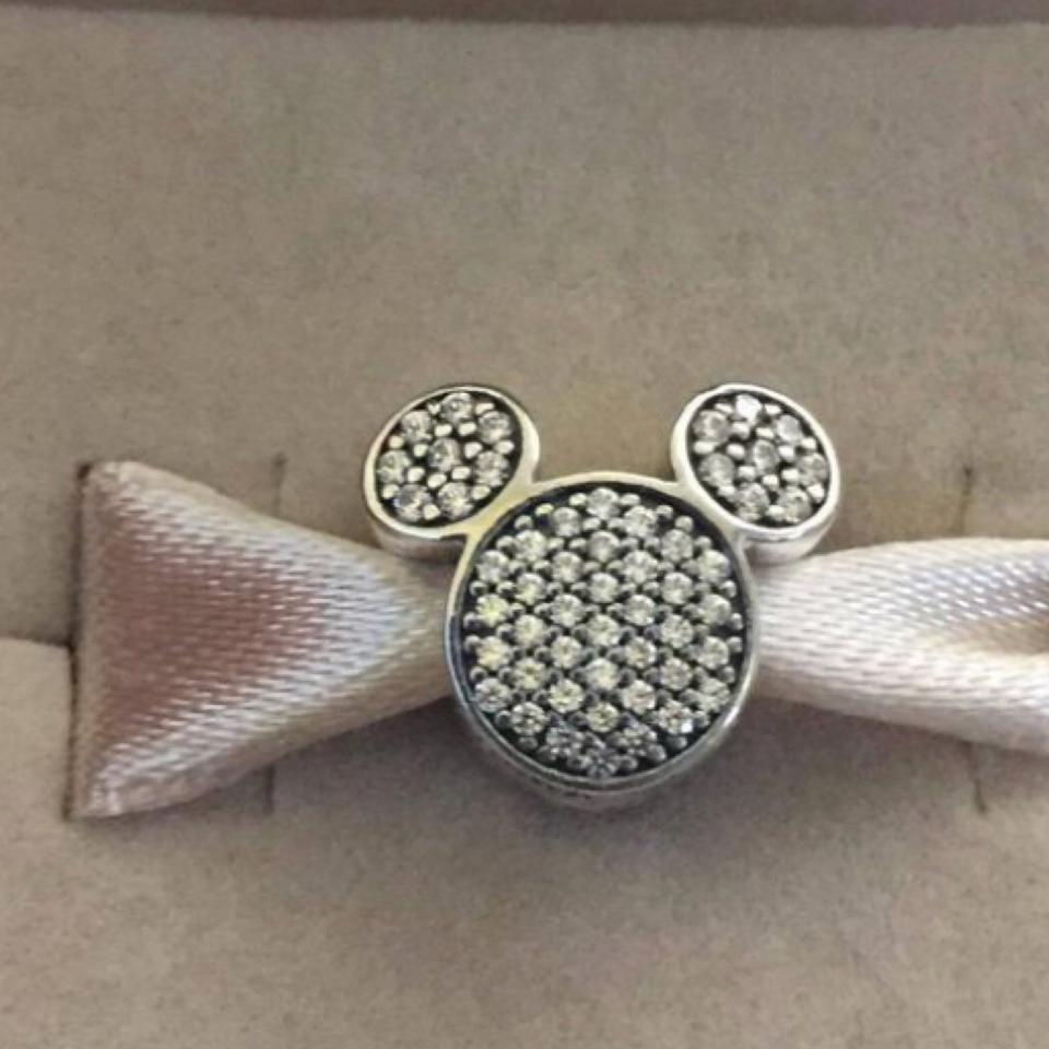 2c1282559 PANDORA Pandora Disney Sparkling Mickey & Minnie Ears Clips Set of 2 Image  5. 123456