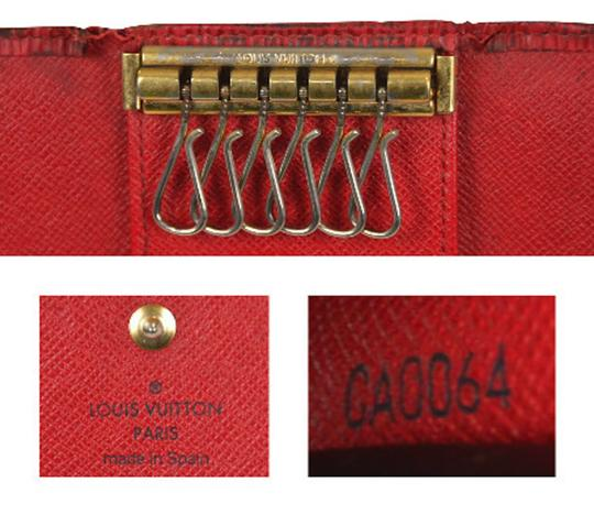 Louis Vuitton Red Epi Leather Multicles 6 Key Case Keychain Key Chain M63817 Image 11