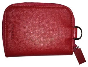Prada Prada Safiano red leather coin purse