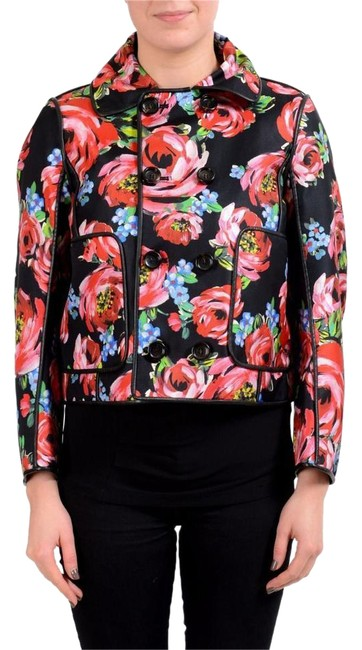 Item - Multi-color Silk Double Breasted Women's Basic Jacket Size 2 (XS)