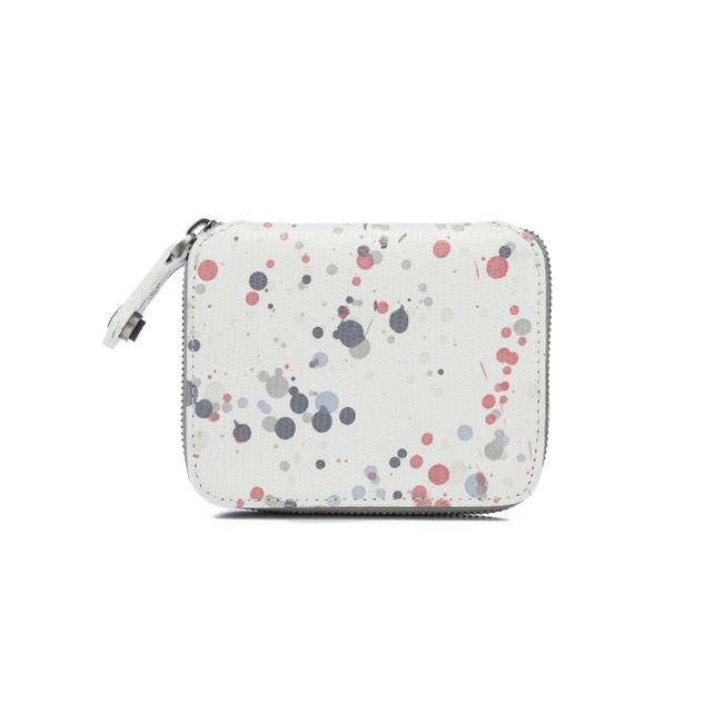 Item - Small Cayman Wallet Multicolor Leather Wristlet